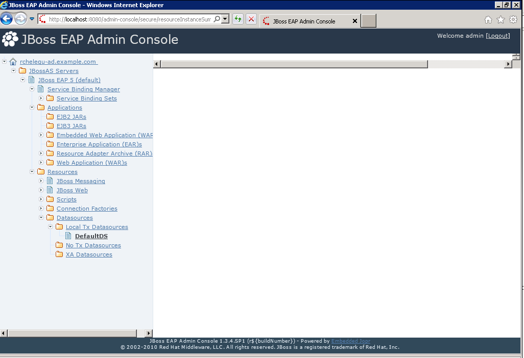 JBPAPP-7551] Admin Console main content area is blank on IE7 and IE8