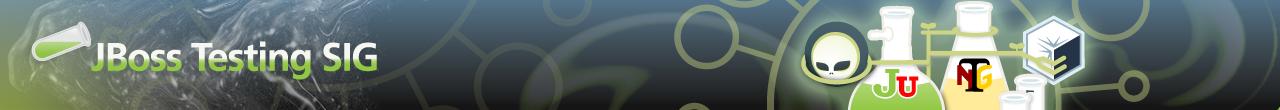 JBoss Testing SIG banner