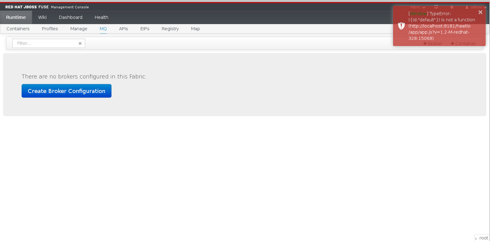 ENTESB-1176] Hawtio MQ tab doesn't show brokers in Firefox