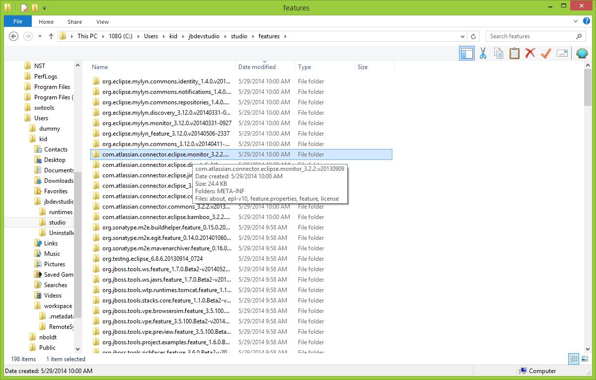 RHDEVDOCS-100] Shared install on Windows will only use