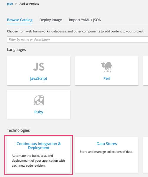 JBIDE-24146] Support pipeline deployment style - JBoss Issue Tracker