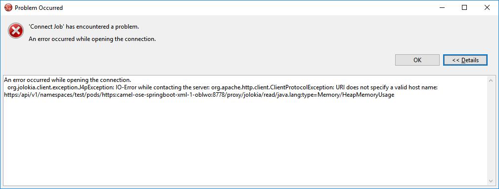 JBIDE-24306] Cannot connect to JMX through OpenShift Server adapter