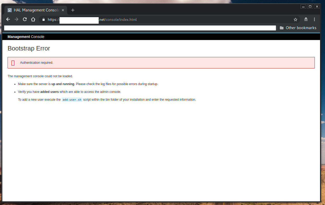 HAL-1524] Bootstrap Error under Chrome 69 0 3497 92 (Official Build