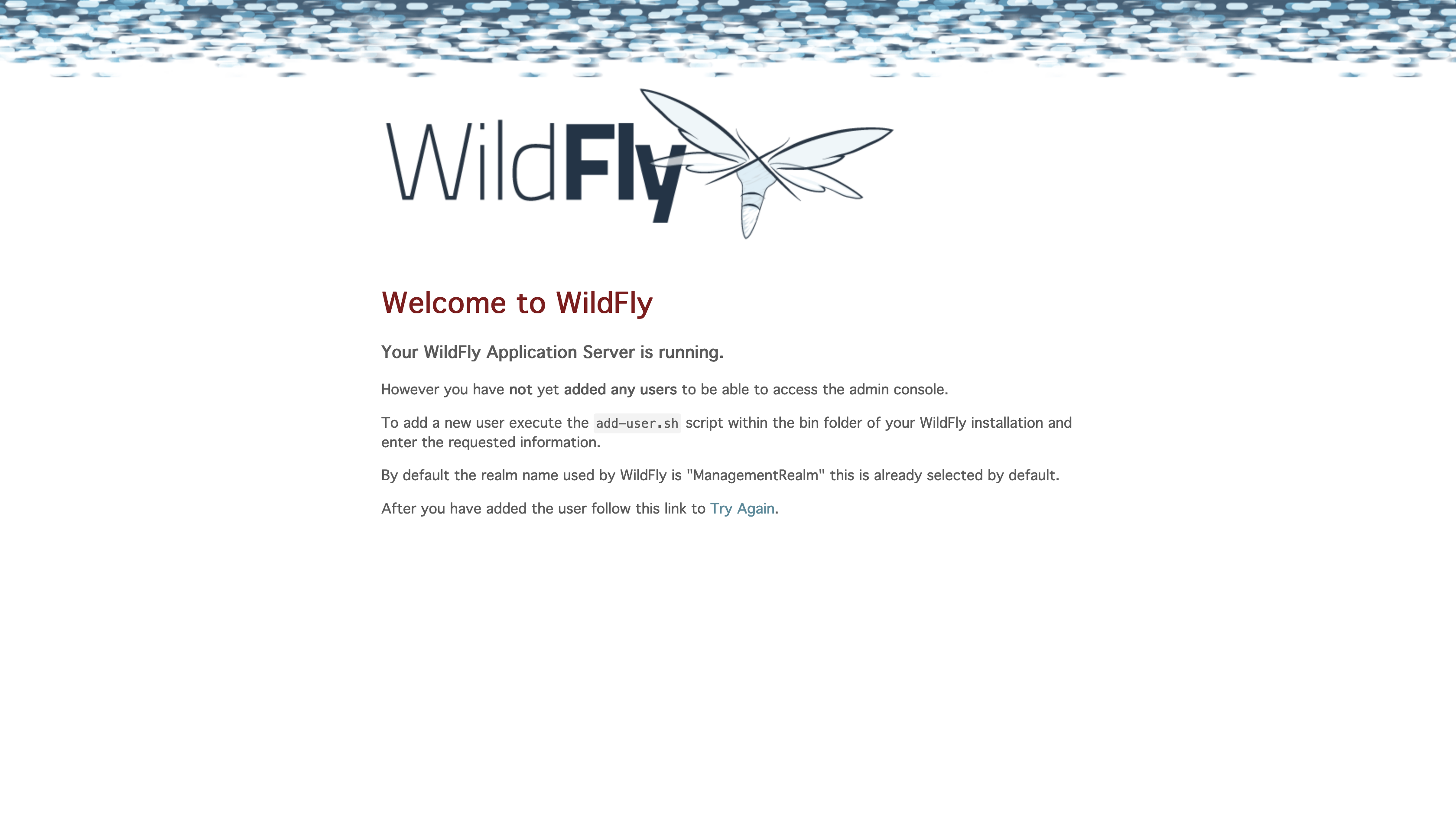 WFCORE-4438] No welcome page in WildFly 17 - JBoss Issue Tracker