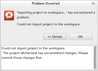 import-failed-uncommitted-changes.png